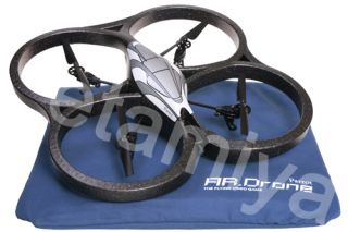 Parrot AR. Drone 1.0 Quadricopter Helicopter I Phone/Android Apps