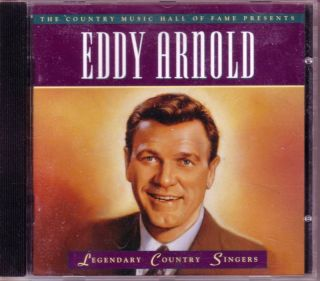 Time Life Eddy Arnold Legendary Country Singers CD