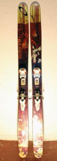 Armada JJ 185cm Mens Twin Tip Skis Marker Jester Bindings Bargain 2011