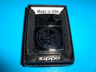 VINTAGE NASA APOLLO FAILURE IS NOT AN OPTION UNUSED ZIPPO LIGHTER FROM