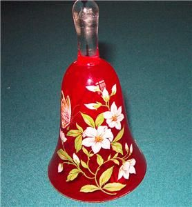Art Glass Bell * Hand Made & Painted in Italy * Norleans