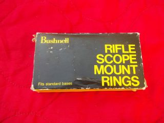 Bushnell 1  Rifle Scope Mount Rings for Centerfire Rifles