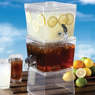 Stacking Plastic Outdoor Party Drink Beverage Dispenser