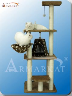 2012 New Style Armarkat cat tree furniture condo scratching post house
