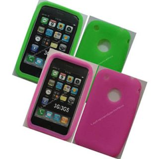 Wholesale LOT400 Silicon Case Cover Apple iPhone 3G 3GS