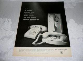 RETRO 1960S WALL ART,BELL TELEPHONE, BATTERED BURNEDWALL PRINCESS