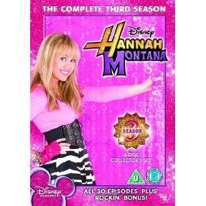 Hannah Montana Complete Season 3 DVD Miley Cyrus New