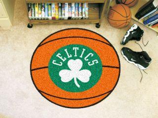 Boston Celtics 27 Basketball Shape Area Rug Floor Mat