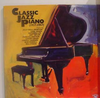 VARIOUS classic jazz piano 1927 1957 LP Mint  6754 1 RB Mono 1988