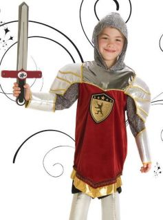 Soft Flexible Knight Costume King Arthur Armor Set Childs 3T 4T 3 4 5