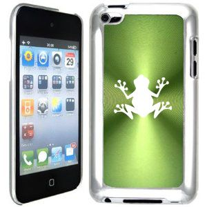 Green Apple iPod Touch 4th Generation 4G Hard Case Cover B141 Frog