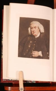 details a lovely set of boswell s famous biography of johnson