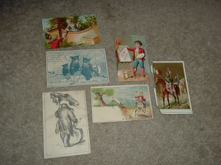 Lot of Victorian Trade Cards B T Babbitts Soap L Sturtz