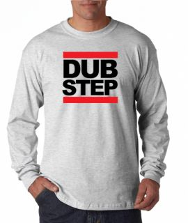 Dubstep Run DMC Style Electronic Long Sleeve Tee Shirt