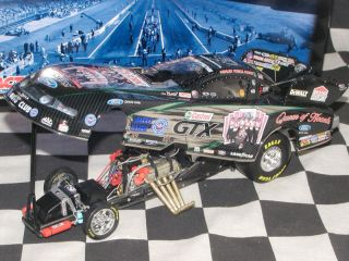 ASHLEY FORCE 2010 CASTROL QUEEN OF HEARTS COLOR CHROME JOHN FORCE