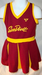 Arizona State Sun Devils Cheerleader Outfit Youth Small