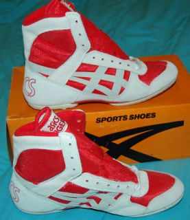 Asics Split Second Original Wrestling Shoes RARE Sz 14