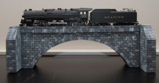 HO Scale Custom Hand Carved Stone Single Arch Bridge