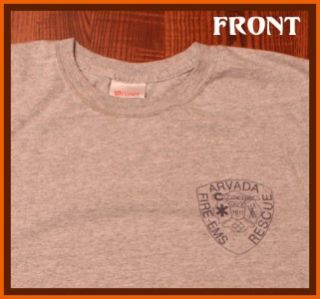 SPECIAL $14 DELIVERED Arvada Fire Rescue Department T Shirt L