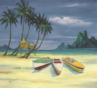 Tropical Paul Brent Archipelago Beach Wallpaper Mural
