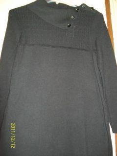Architect Woman Plus Size Wool Blend Cowl Neck Knit Sweater Dress