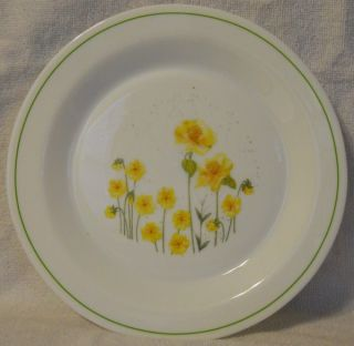 Arcopal France ARP3 Yellow Tulip Pattern Dinner Lt Wear