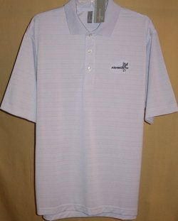 EZ Tech Performance Wicking Textured Stripe s s Polo LG Arnett