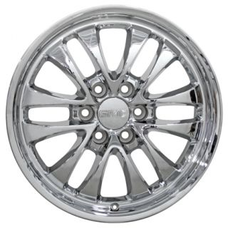 20 Chrome Avalanche Wheel 5240 Rim Fits Chevrolet GMC Sierra