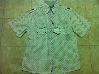 ENGLISH LAUNDRY ARROGANT White Shirt Mens NWT sz. Large