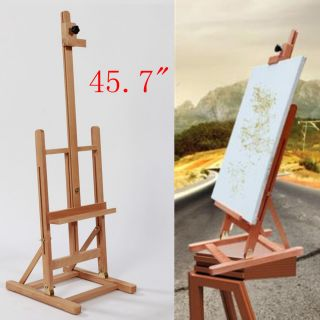 45 7 Artist Easel Wood Tripod Table Top Easel Display Drawing