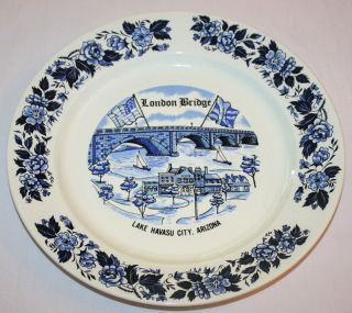 London Bridge Havasu City AZ 1971 Rededication Plate