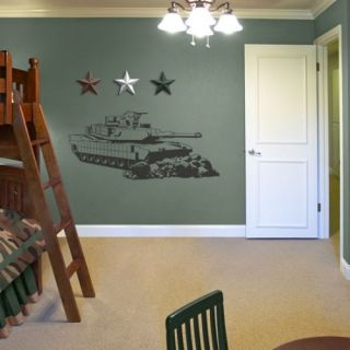 Tank Army Boys Kids Room Wall Art Decor Decal Large New