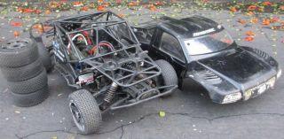 Team Associated SC8E Artr w Mamba Monster ESL 2650KV Brushless Motor