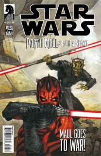 STAR WARS DARTH MAUL DEATH SENTENCE #4 (of 4) Dark Horse Comics