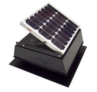 Rand Solar Powered Attic Fan 27 Watt w Roof Top Ventilator New