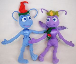 Disney Pixar A Bugs Life Flik Princess Atta Christmas Plush Stuffed
