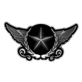 Army Star Crest Angel Wings Badge Belt Buckle Brand New Belt Buckle