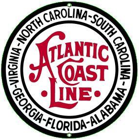 railroad metal sign item atlantic c s size 10in round
