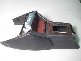 Audi 90 Center Console Instrument Cluster Bezel Gauges Used Wood Trim