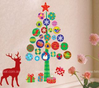 Removable Wall Sticker Great xmas Gift Wish U Merry xMas