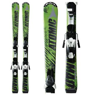 Kids Boys Skis Atomic Nomad Jr Downhill 120cm XTE 7 Easytrak Binding