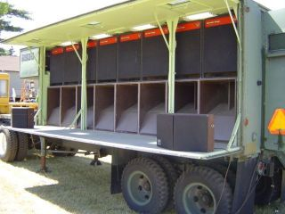 Mobile Audio Sound System Trailer Karaoke Crown Cerwin Vega Amplifiers