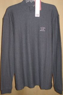 Cutter and Buck Tour Long Sleeve Atwell Mock Neck LG Charcoal Heather
