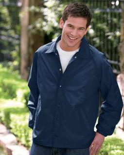Auburn® Kasha Lined Nylon Coach Jacket, Adult, USA, 5+ Sports Colors