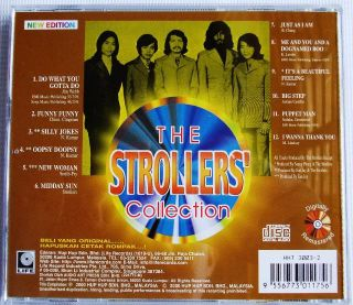 The Strollers Greatest Hits Collection CD New 60s Pop Malaysia Band