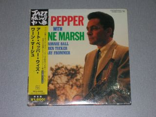 Art Pepper with Warne Marsh Japan Mini LP CD SEALED