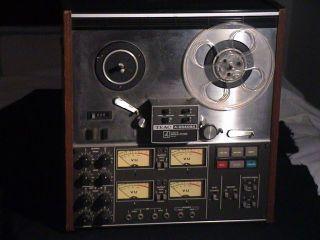 eac Model A2340SX Reel Reel Audio Recorder Player ape Deck
