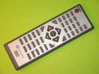 Audiovox Square Gray DVD Video Remote Control
