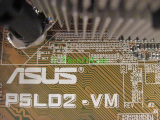 Asus P5LD2 VM Socket 775 Motherboard + Intel Pentium D 3GHz 3.0GHz CPU
