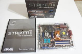 asus striker ii nse socket 775 motherboard 1665